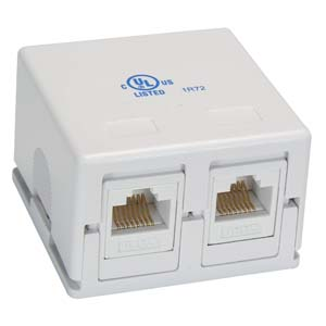 networking surface mount boxes keystone