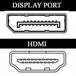 display port and hdmi comparison of connectors