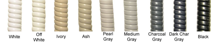color selection of Telephone Handset Cords
